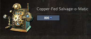 Recommended infinite salvage kit
