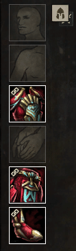 Required gear slots to fill in GW2 PvP